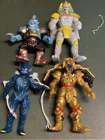 Mighty Morphin Power Rangers Villians Lot Of 4 Bandai 90's Vintage