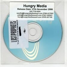 (GT961) Lost Prophets, Can't Catch Tomorrow - 2006 DJ CD