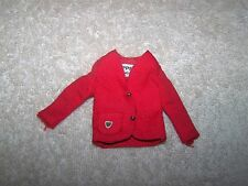 VINTAGE SKIPPER SCHOOL GIRL (1965-1966) #1921 RED CARDIGAN JACKET