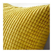 "IKEA GULLKLOCKA Soft Chenille PILLOW COVER GOLDEN YELLOW 20 X 20""  NOP FREE SHIP"