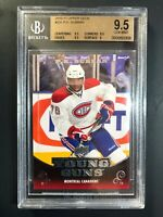 2010-11 Upper Deck P.K. Subban Young Guns Rookie BGS 9.5
