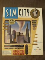 Sim City Original City Simulator Vintage PC Game Great Condition Rare IBM