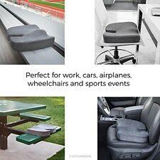 Orthopedic Gel Seat Cushion Truck Car Pain Sciatica Protection Soft Comfort Pad
