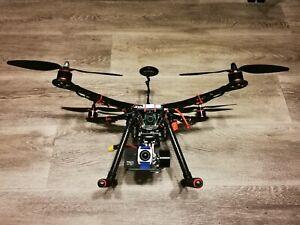 Drone 4K Drohne Dual 2x Kamera 4K DJI Phantom Gimbal Quadrocopter WIFI FPV rc832