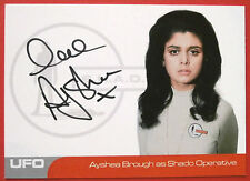 UFO - AYSHEA BROUGH (AB1) - Shado Operative - VERY LIMITED Autograph Card
