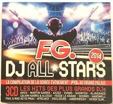 FG. DJ ALL STARS 2014 - AVICII GARRIX HARDWAY AFROJACK HARDWELL - [ 3 CD ALBUM ]