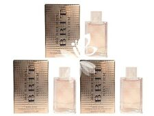 Mini Miniature Burberry Brit Rhythm Floral 5ml  x3 EDT Travel Women Perfume