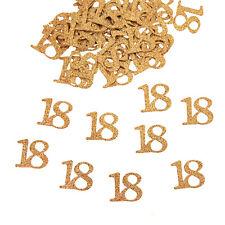 Konfetti Zahl 50 Gold Deko Geburtstag Hochzeitstag Jubiläum extra groß