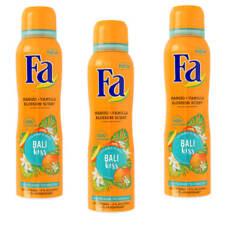 ( 21,82€/ L) 3x 150ml FA Bali KISS Desodorante Spray mango- vanilleblüten