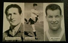 Cup Tie Stars Of All Nations Gento White Charles The Victor Football Card