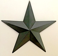 Primitive Country Home Decor-Tin Barn Star- Black- 18 or 24 inches- wall decor