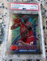 MICHAEL JORDAN 1994 Topps Finest RARE PSA 8 HOF Chicago Bulls 6 x Champion MVP $