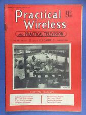 PRACTICAL WIRELESS - Magazine - August 1949 - Midget Portable Superhet, 6-Valve