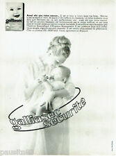 PUBLICITE ADVERTISING 115  1964  Galliasec  lait bébé