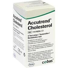 ACCUTREND Cholesterol Teststreifen 5 St
