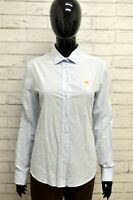 Camicia ETRO Donna Taglia size 46 L Maglia Blusa Shirt Woman Cotone Manica lunga