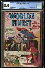 World's Finest #131 CGC 8.0 White Pages 2/63 Superman Batman
