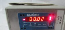 Interface 9820 Strain Gage Indicator or load cell display.