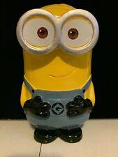 "Despicable Me 2 Minion 9"" Ceramic Coin Money Piggy Bank Universal Studios"