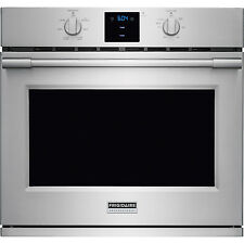 "Frigidaire Stainless PRO 30"" Electric Single Wall Oven Convection FPEW3077RF"