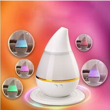 USB Ultrasonic Air Humidifier Steam LED Aroma Vaporiser Diffuser Purifier New