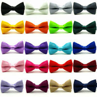 Baby Kids Boys Children Pre-Tied Bow Tie Party Wedding Tuxedo Bowties Necktie