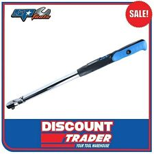 "SP Tools Digital Torque Wrench 3/8""dr 680mm Flex Head Sp35357"