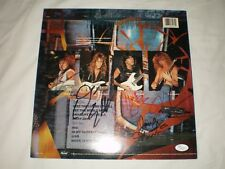 MEGADETH Signed by All 4 So Far So Good So What Record Album JSA coa w/ Ticket