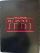Star Wars Return Of The Jedi Vintage Press Kit Program RARE 1983