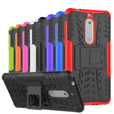 For Nokia 2 5 6 8 Case Rugged Shockproof Hybrid Kickstand Armor Hard Phone Cover