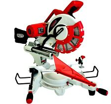 "12"" Compound Sliding Mitre Saw 240v DOUBLE BEVEL with Laser & 60 Tooth TCT Blade"