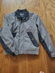 Dryjoys by Footjoy Womens Golf Jacket Small 2 in 1, Jacket/Vest Black White