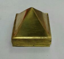 Solid Brass 3 layer Pyramid vastu item for positive energy usa seller Fast ship