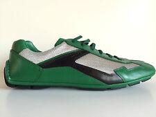 PRADA Sneaker vert, chaussures CUIR 40,5, PRADA sneaker LEATHER Green 7