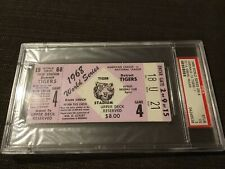 Psa 3 1968 World Series Ticket Tigers St Louis Cardinals Bob Gibson  Vs McLain