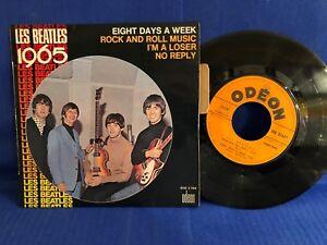 THE BEATLES EP 1965 SOE 3764 LANGUETTE ORIGINAL FRANCE EXC+
