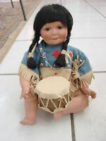 Artaffects Perillo Danbury Mint Song of the Sun Doll Danbury Native American