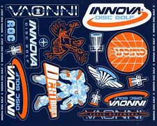 New- Innova Disc Golf Decal Sheet - 15 decals in all!