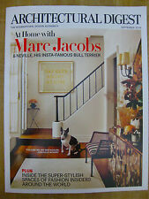 AD ARCHITECTURAL DIGEST MAGAZINE September 2016 Marc Jacob's Home Neville