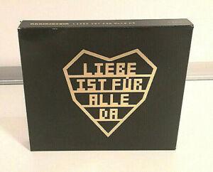 Neuwertige Rammstein LIEBE IST FÜR ALLE DA    Doppel-CD