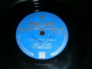 Two Little People / Friends and Neighbours Max Miller PB296 78 Rpm
