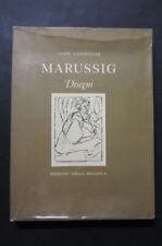 MARUSSIG Disegni  Vanni Scheiwiller 1976  Edizioni Della Seggiola