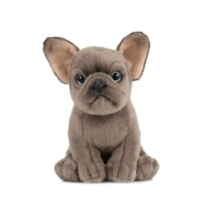 LIVING NATURE FRENCH BULLDOG PUPPY PLUSH SOFT TOY DOG 15CM STUFFED ANIMAL