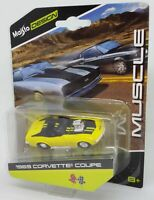 Maisto Design 1/64 1969 Corvette Coupe Muscle Diecast