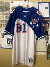 Chris Carter #81 Hawaii 1996 Pro Bowl Mitchell & Ness SEWN NFL Jersey Size:60