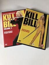 Kill Bill Vol.1/Kill Bill Vol.2 (DVD, 2005, 2-Disc Set)