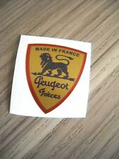 LOGO ECUSSON AUTO-COLLANT PEUGEOT POUR MOULIN A CAFE