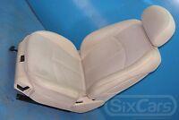 Mercedes E-Kl W211 Fahrersitz Sitz Teilleder Beige vorne links mit Airbag