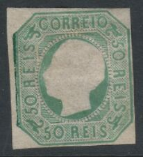 Portugal - 1864, 50r Blue-Green - 2 Margins - M/M - SG 33 - Cat £1200