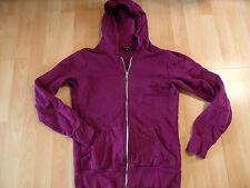 AMISU Hoodie Kapuzensweatjacke beere purple Gr. S TOP KB516
